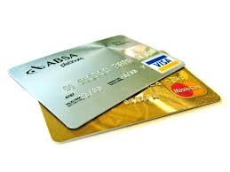 credit cards - visa and mastercard