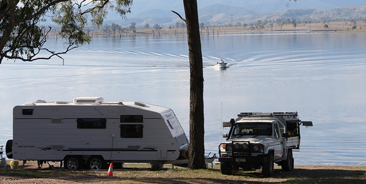 Camp Sites with Boat Access