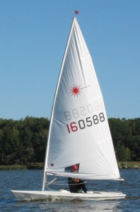 Laser dinghy (sailboat)