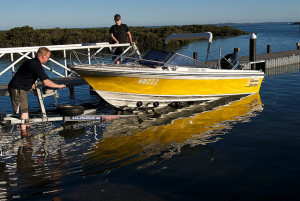 Getting your boat water ready